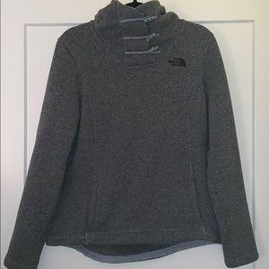 Grey NorthFace Sweatshirt